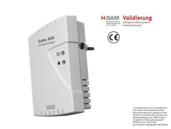 CO-Brandmelder Safety 9000 p. A. (Steckdose)